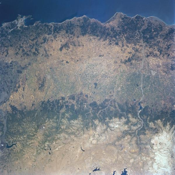 Imagen, Foto Satelite de Valle Central, Concepción, Chile