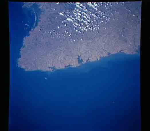 Imagen, Foto Satelite de la Peninsula de Azuero, Panamá