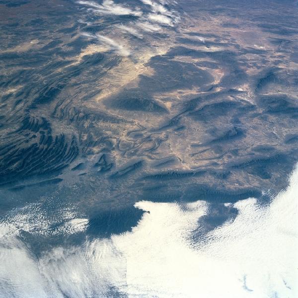 Imagen, Foto Satelite de la Sierra Madre Oriental, Mexico