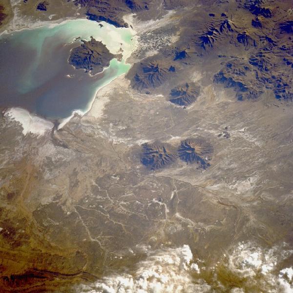 Imagen, Foto Satelite del Altiplano, Bolivia