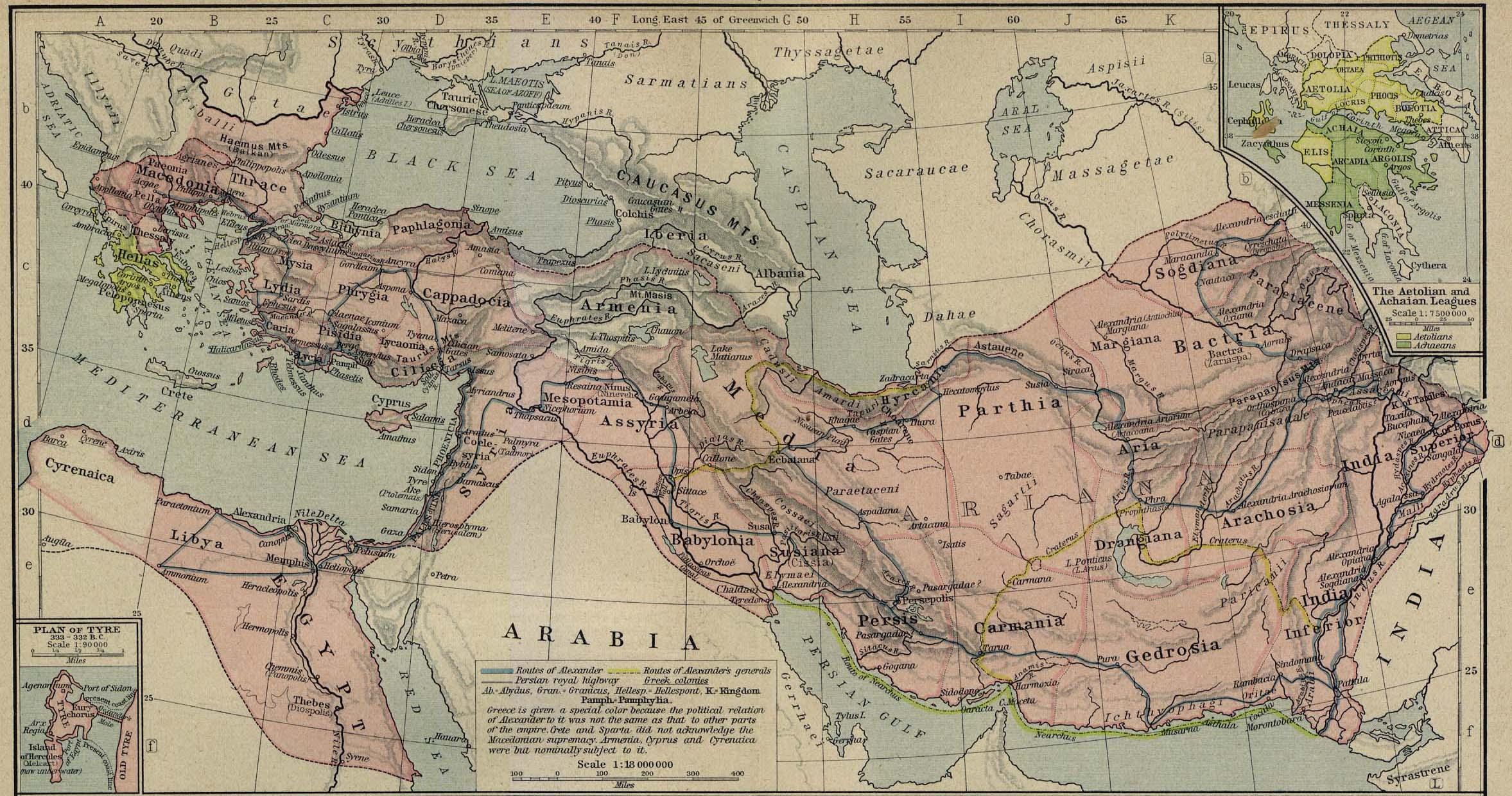 Imperio Macedonio 336-323 adC