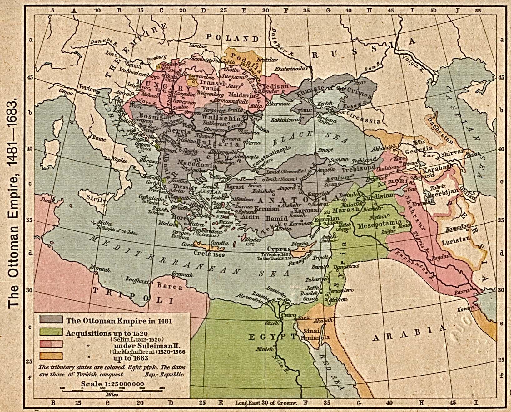 The Ottoman Empire, 1481-1683