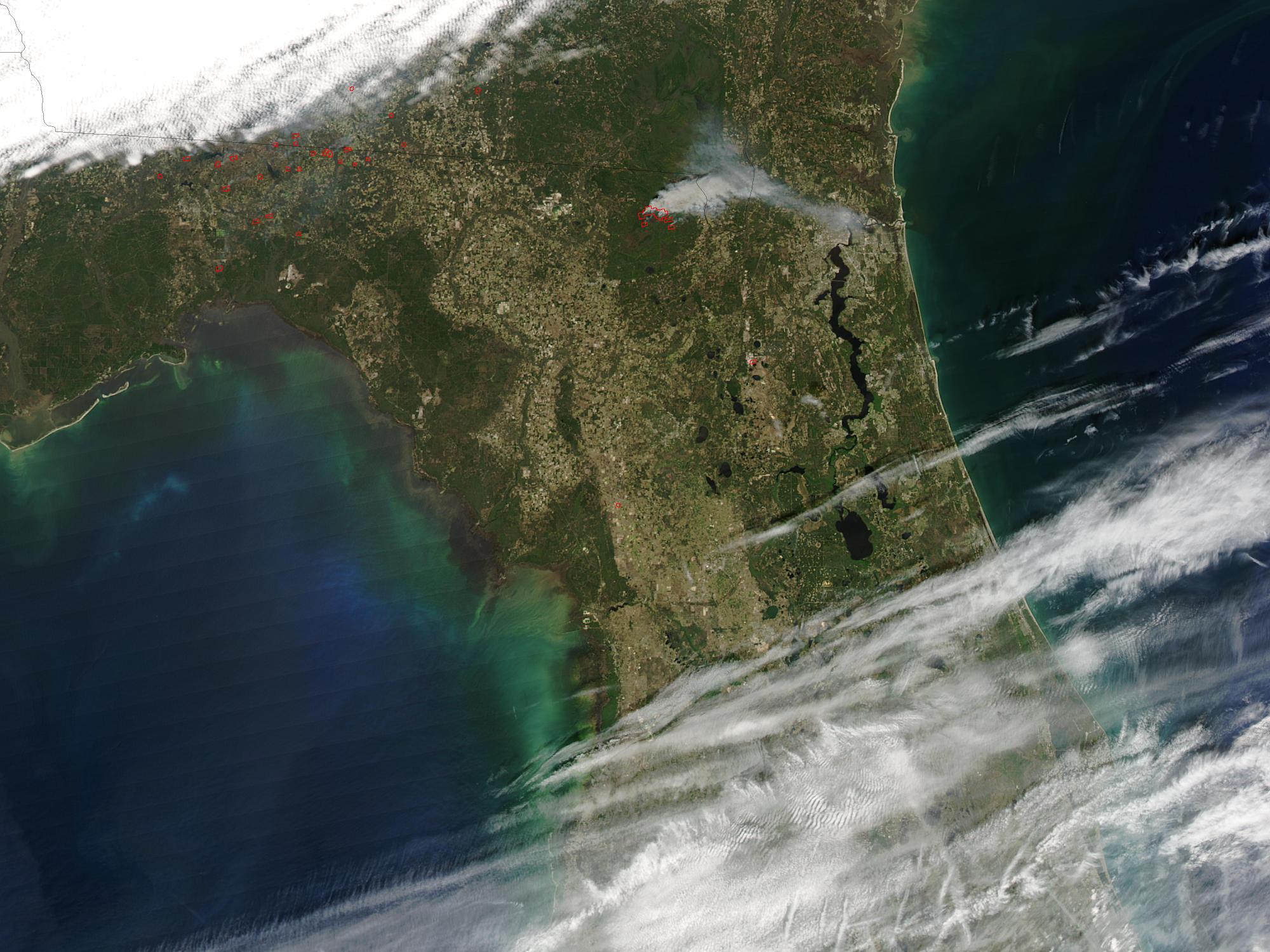 Incendio Impassable One en Florida