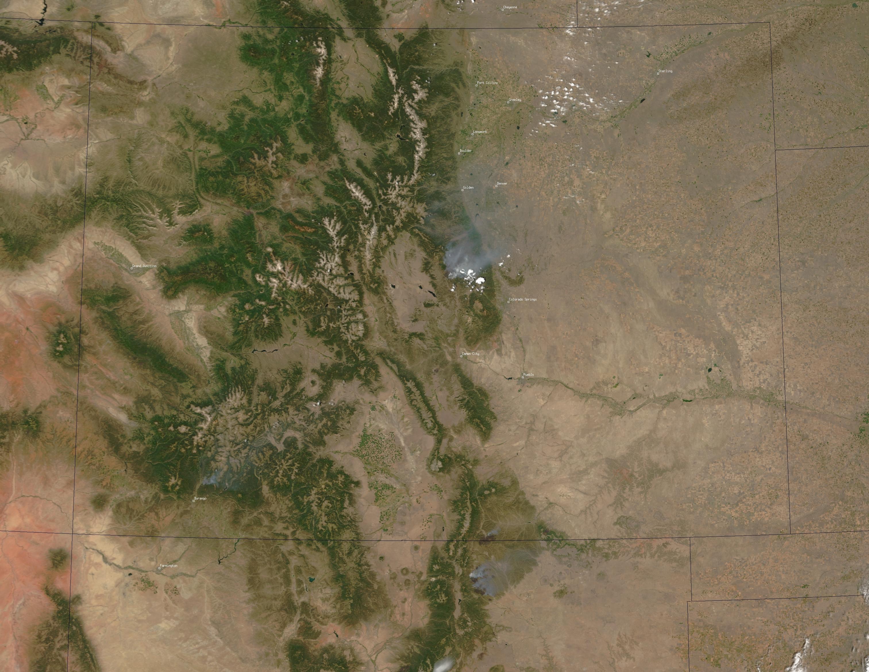 Wildfires Blaze Across Western United States