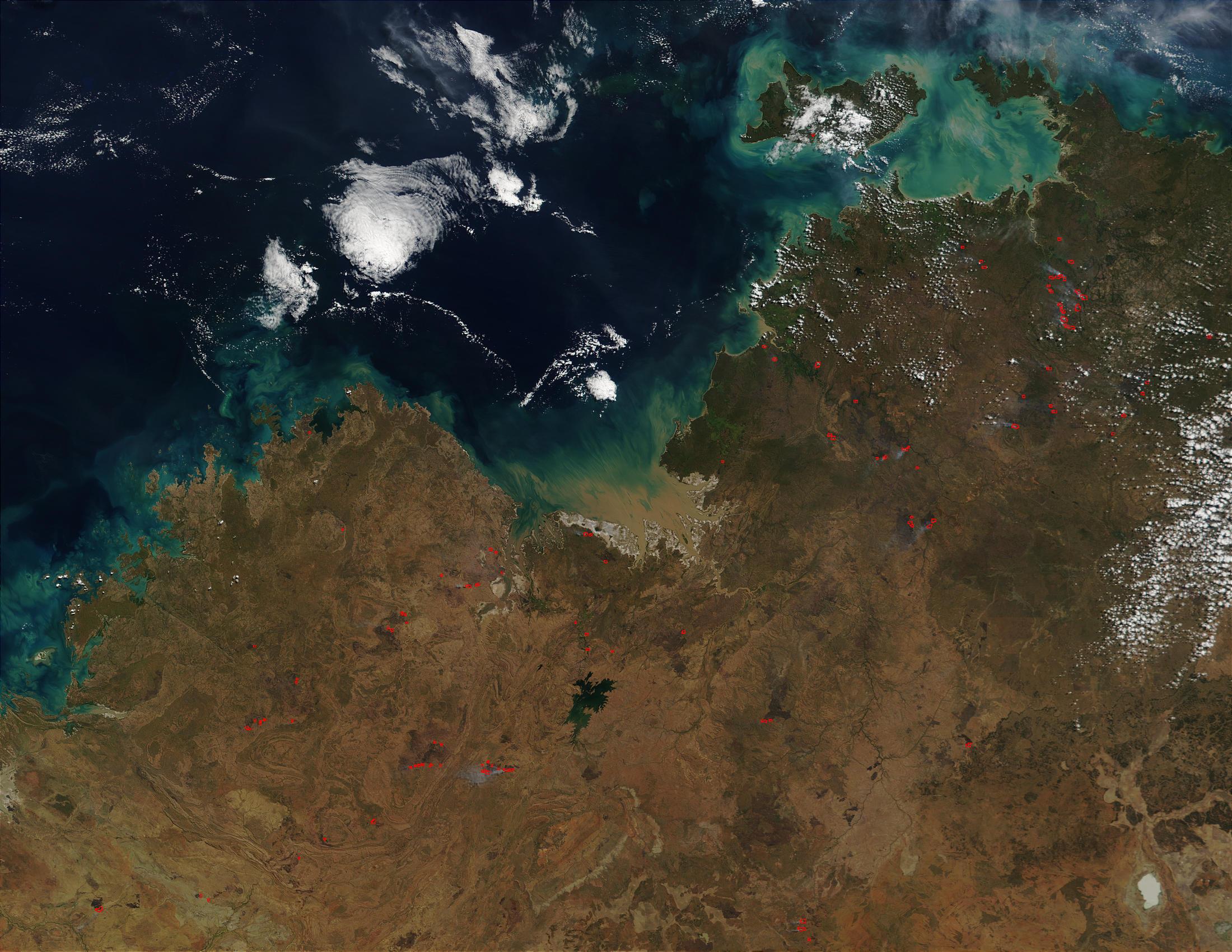 Wildfires in Northern Australia