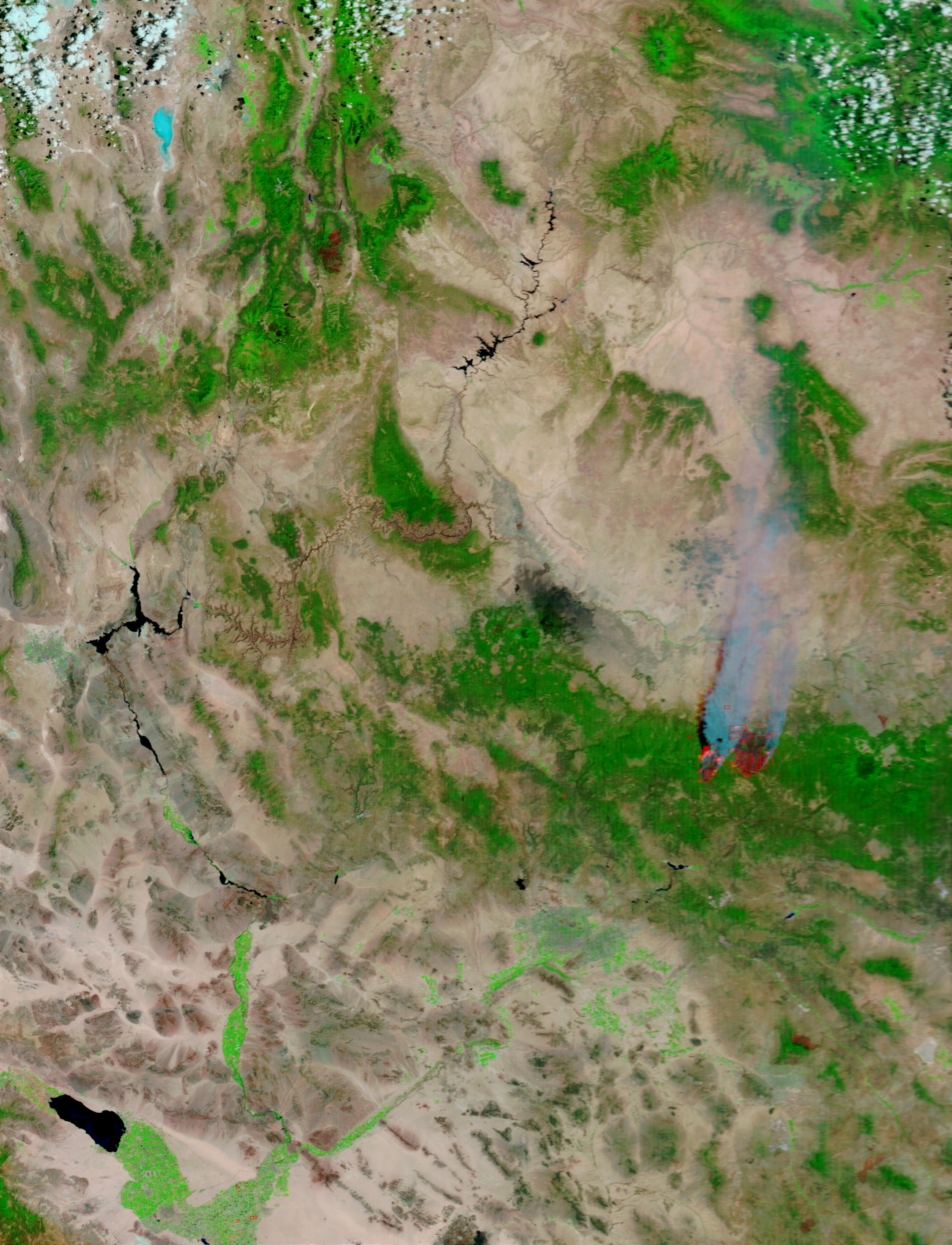 Rodeo and Chediski Fires, Arizona