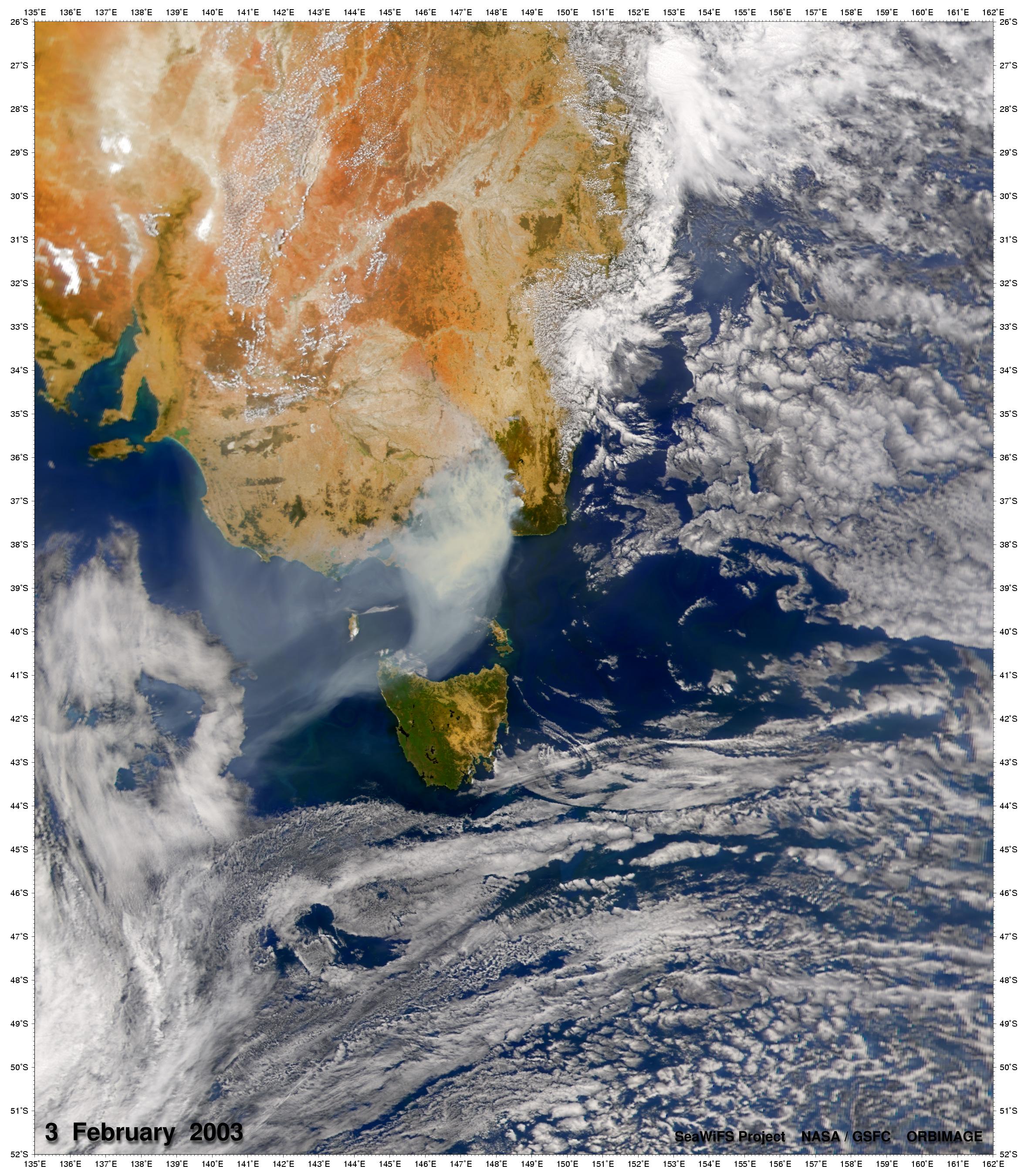 Incendios de matorrales asola el sureste de Australia