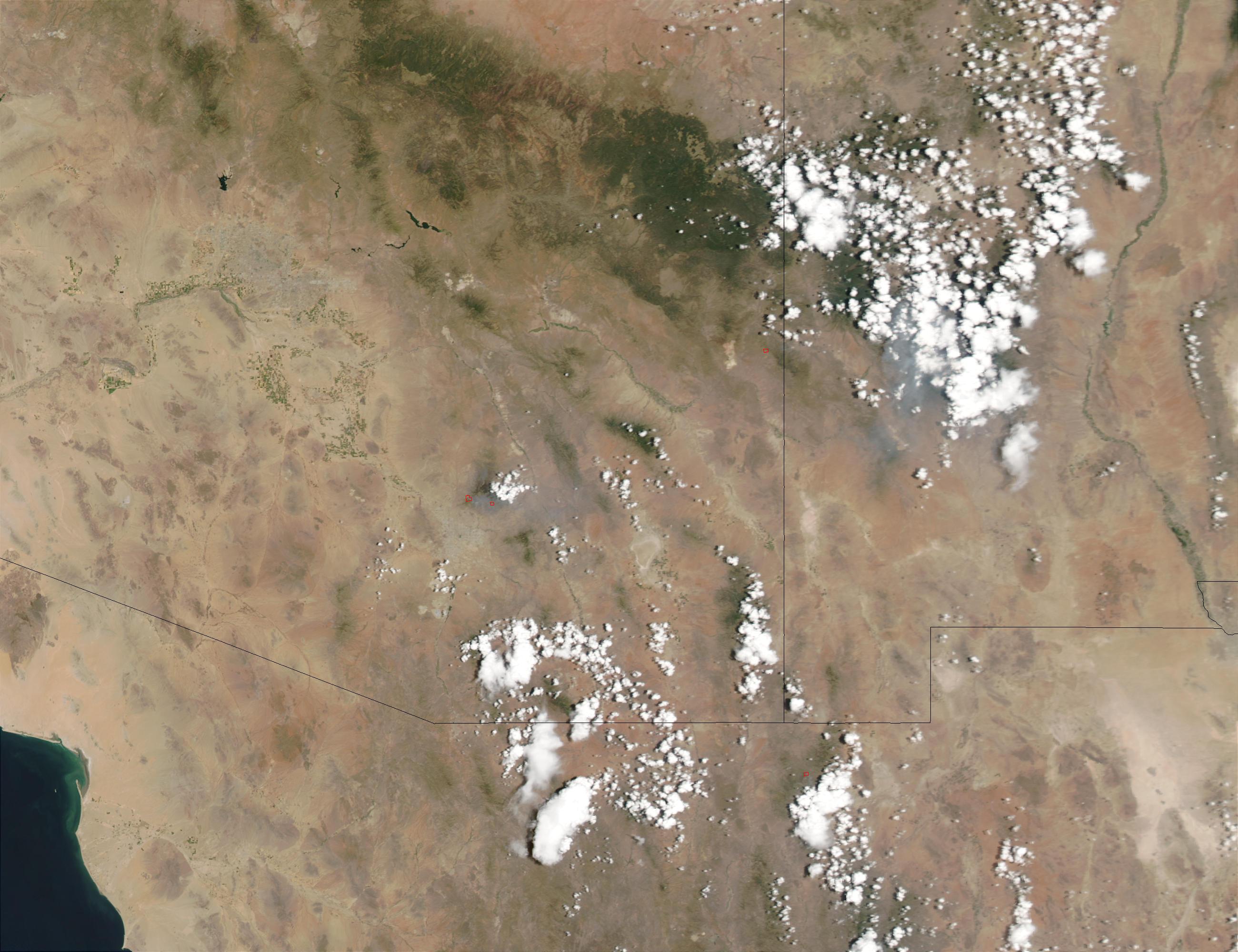 Incendios en California y Nevada