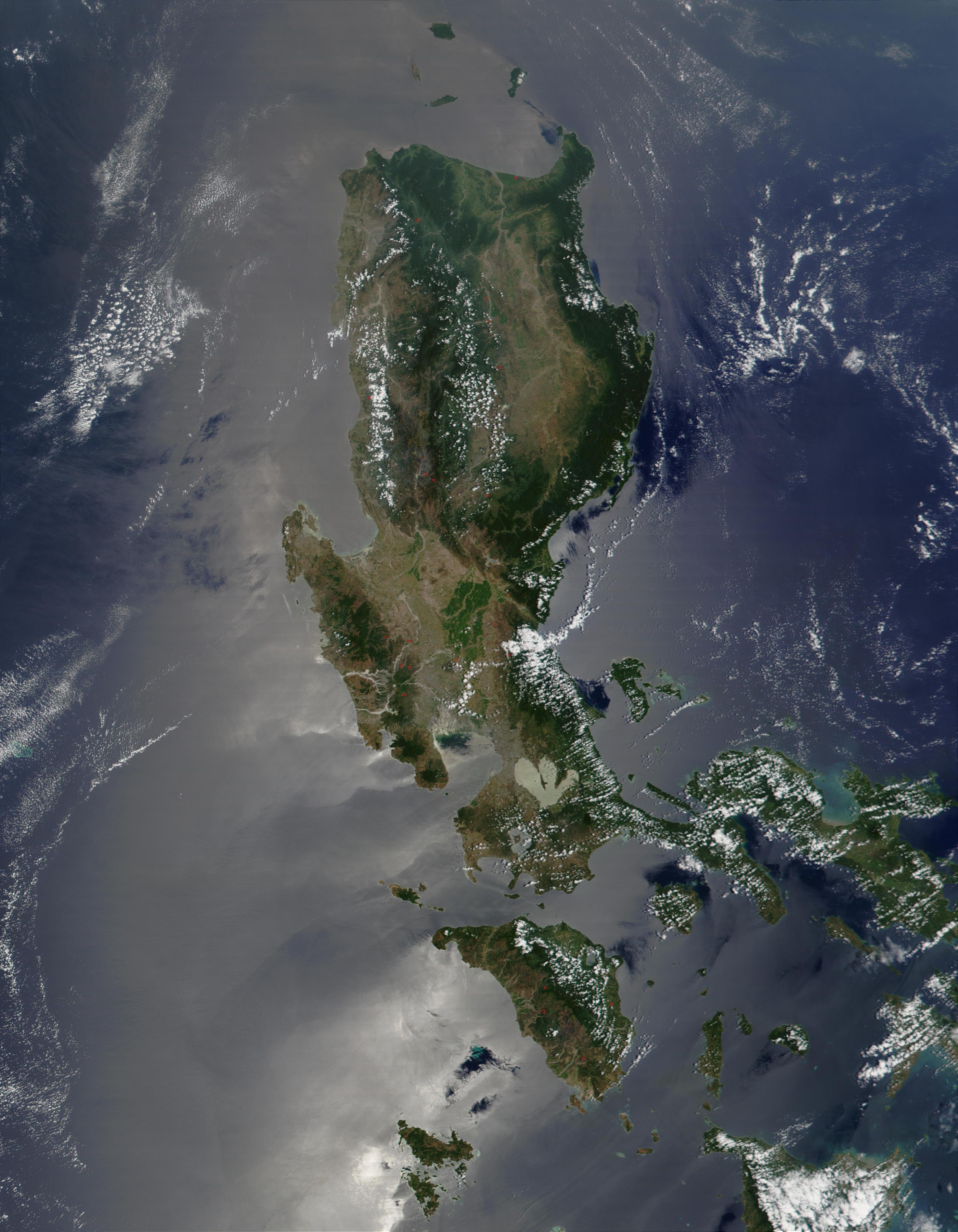 Incendios en Filipinas