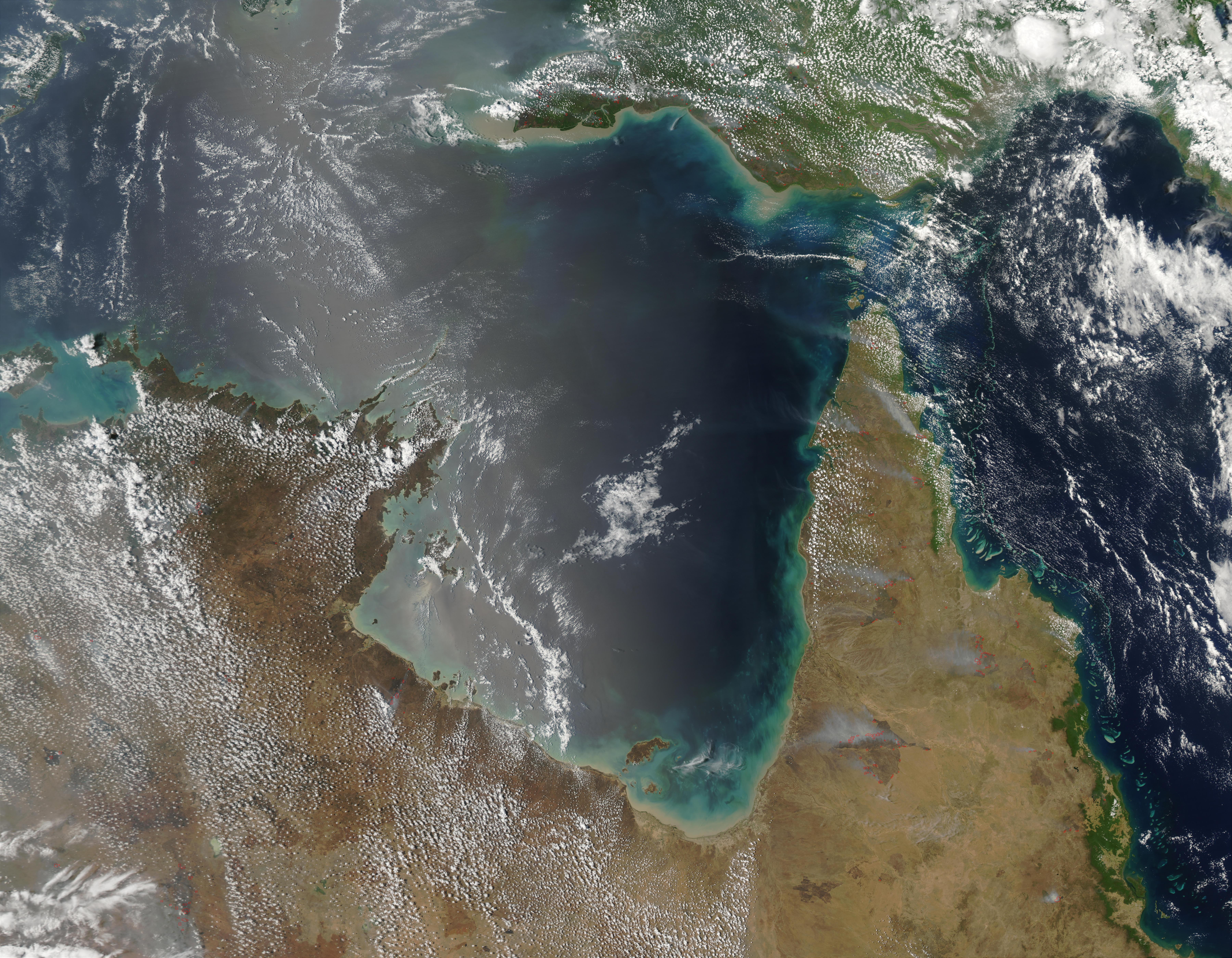 Incendios en Nueva Guinea
