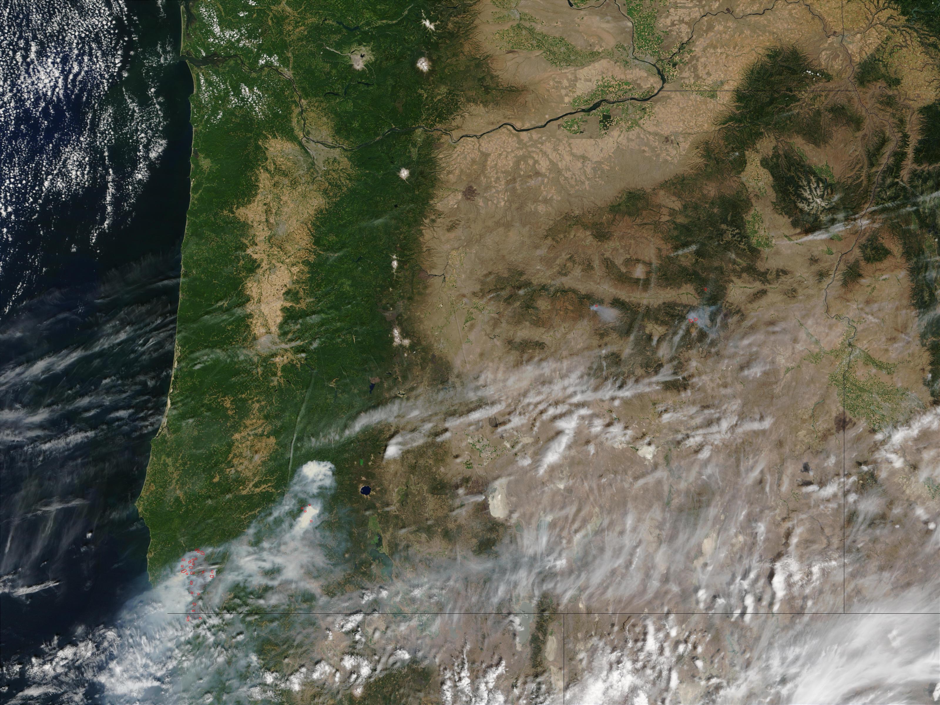 Incendios en Oregón