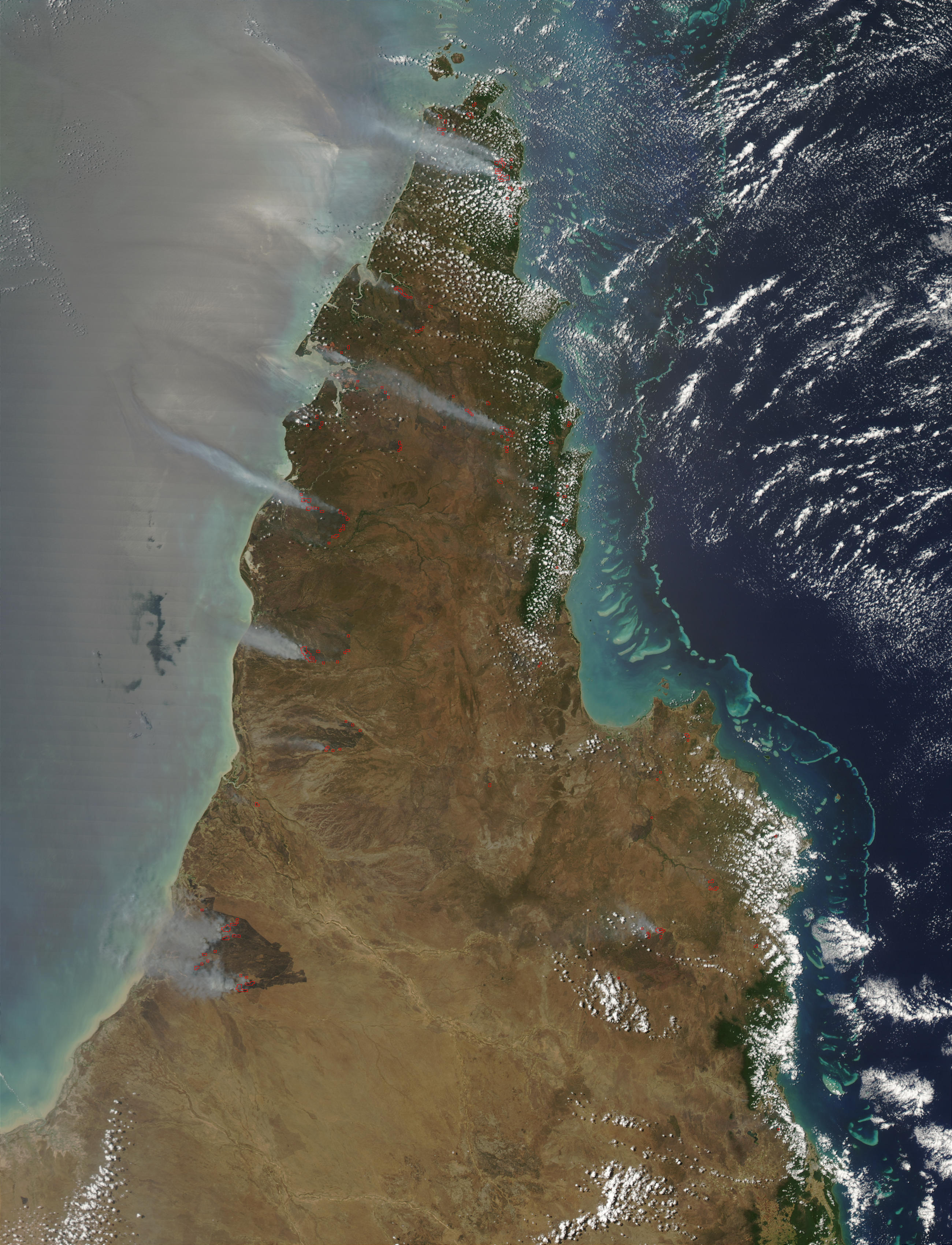 Incendios en Queensland, Australia