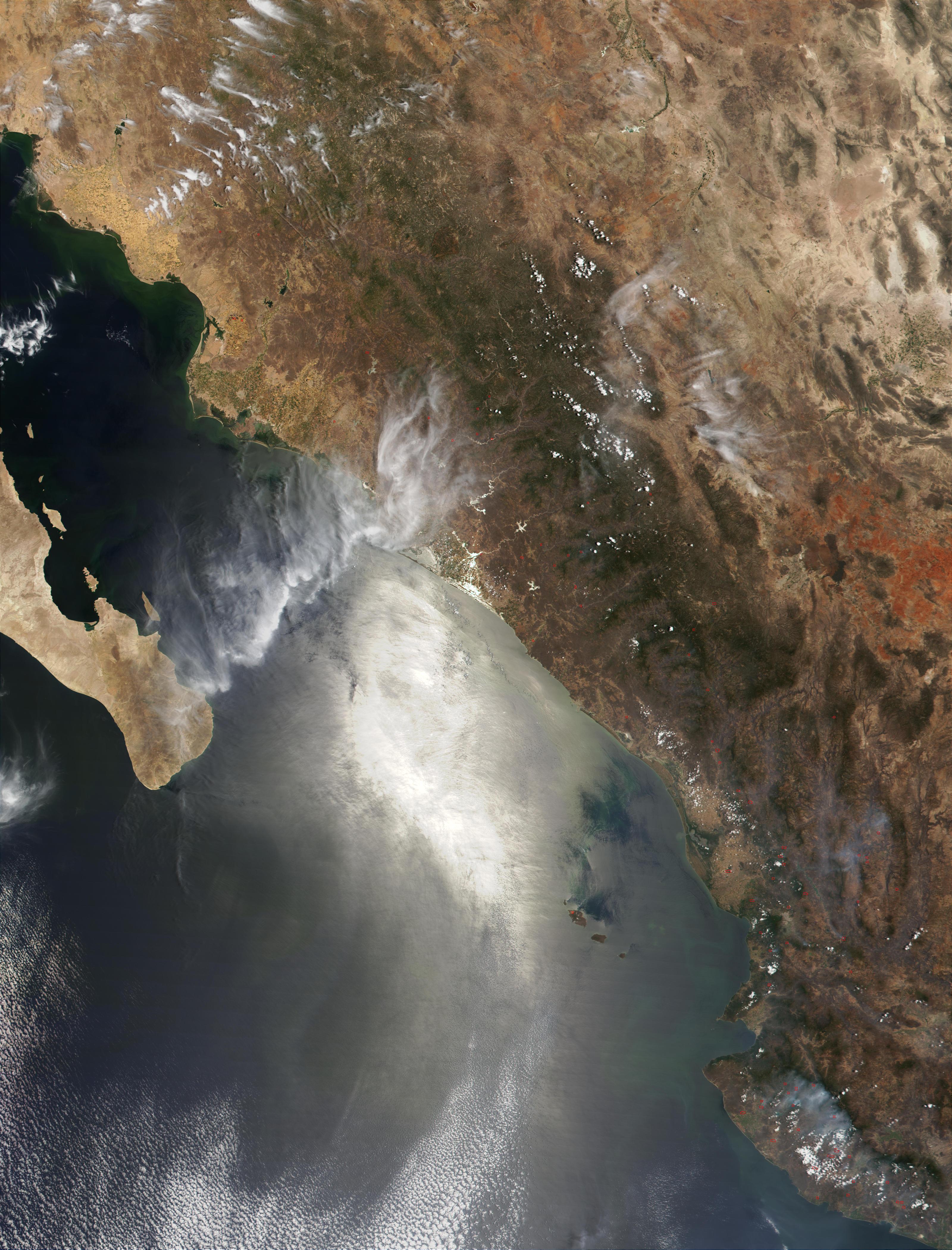 Incendios en Sinaloa, México