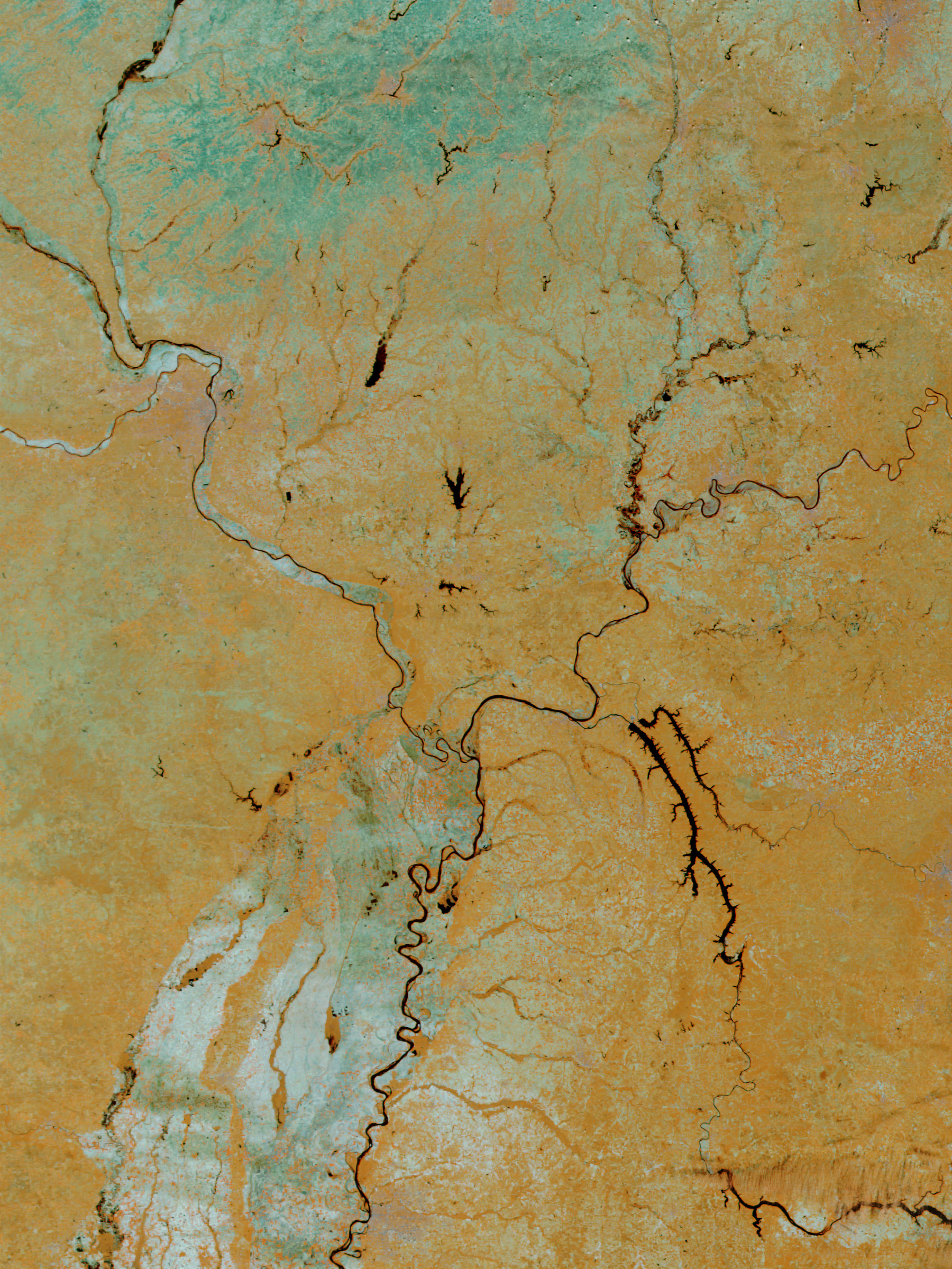 Inundaciones de los ríos Ohio y Misisipi