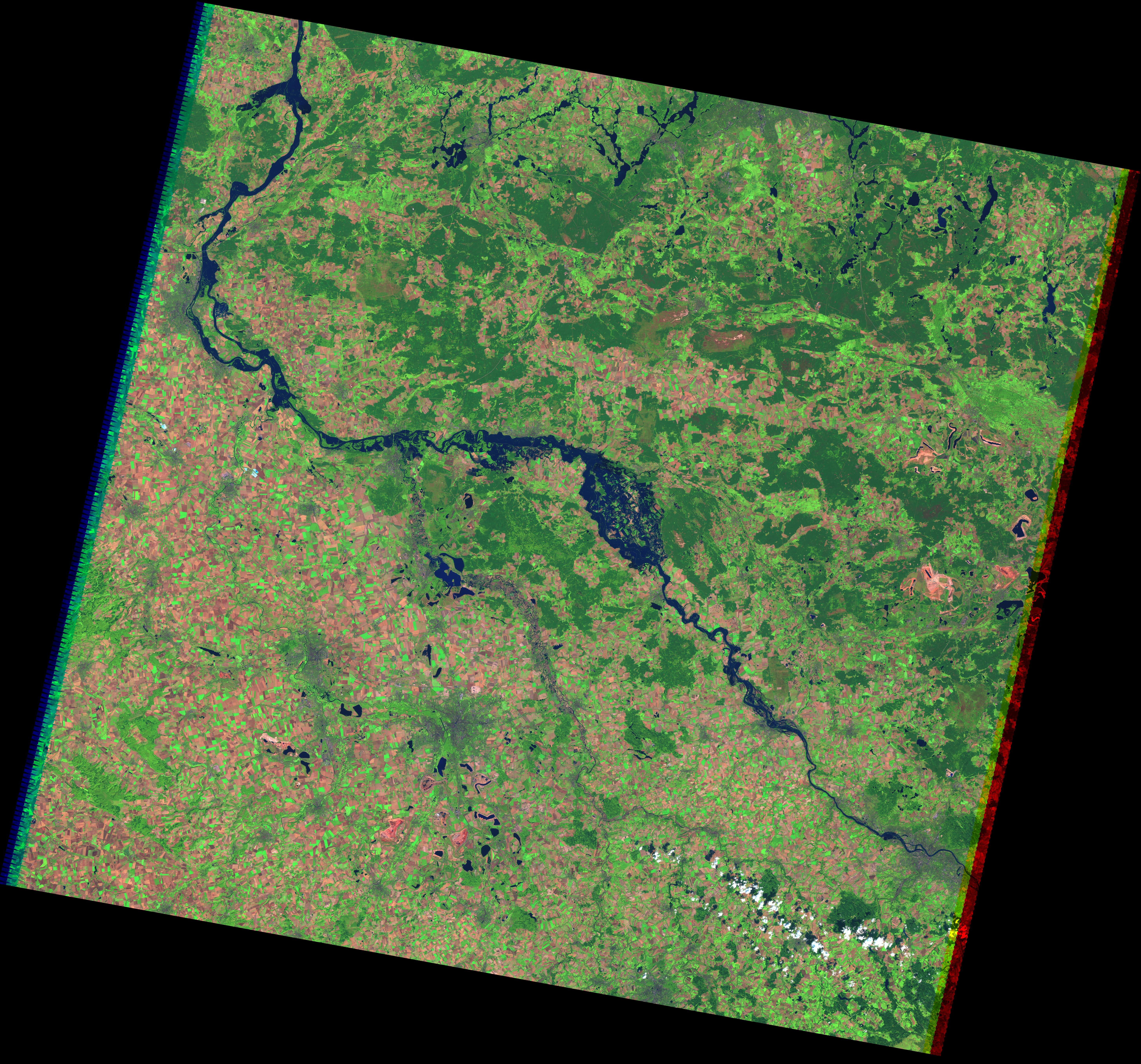Inundaciones del río Elba