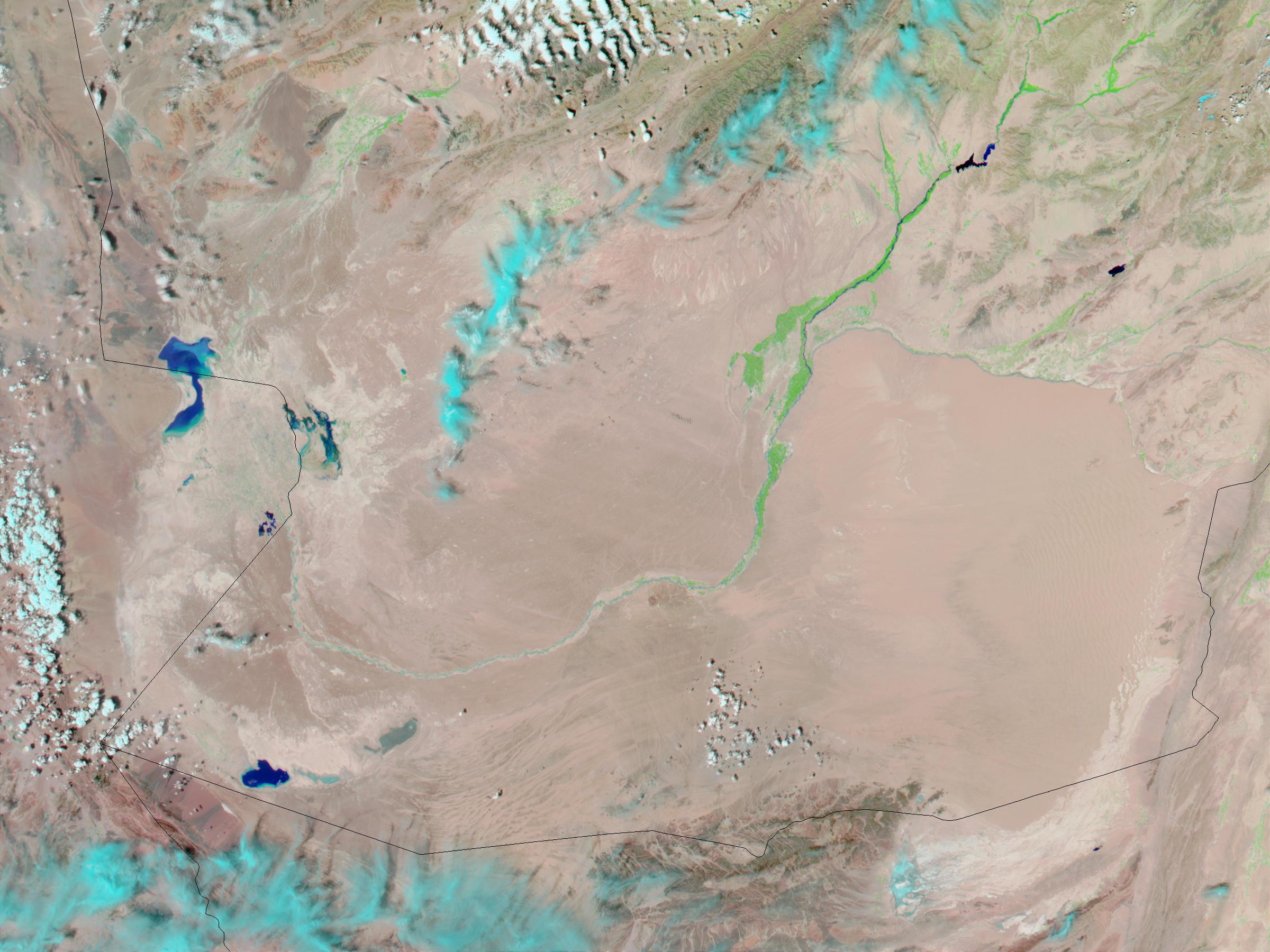Inundaciones en Afganistán meridional
