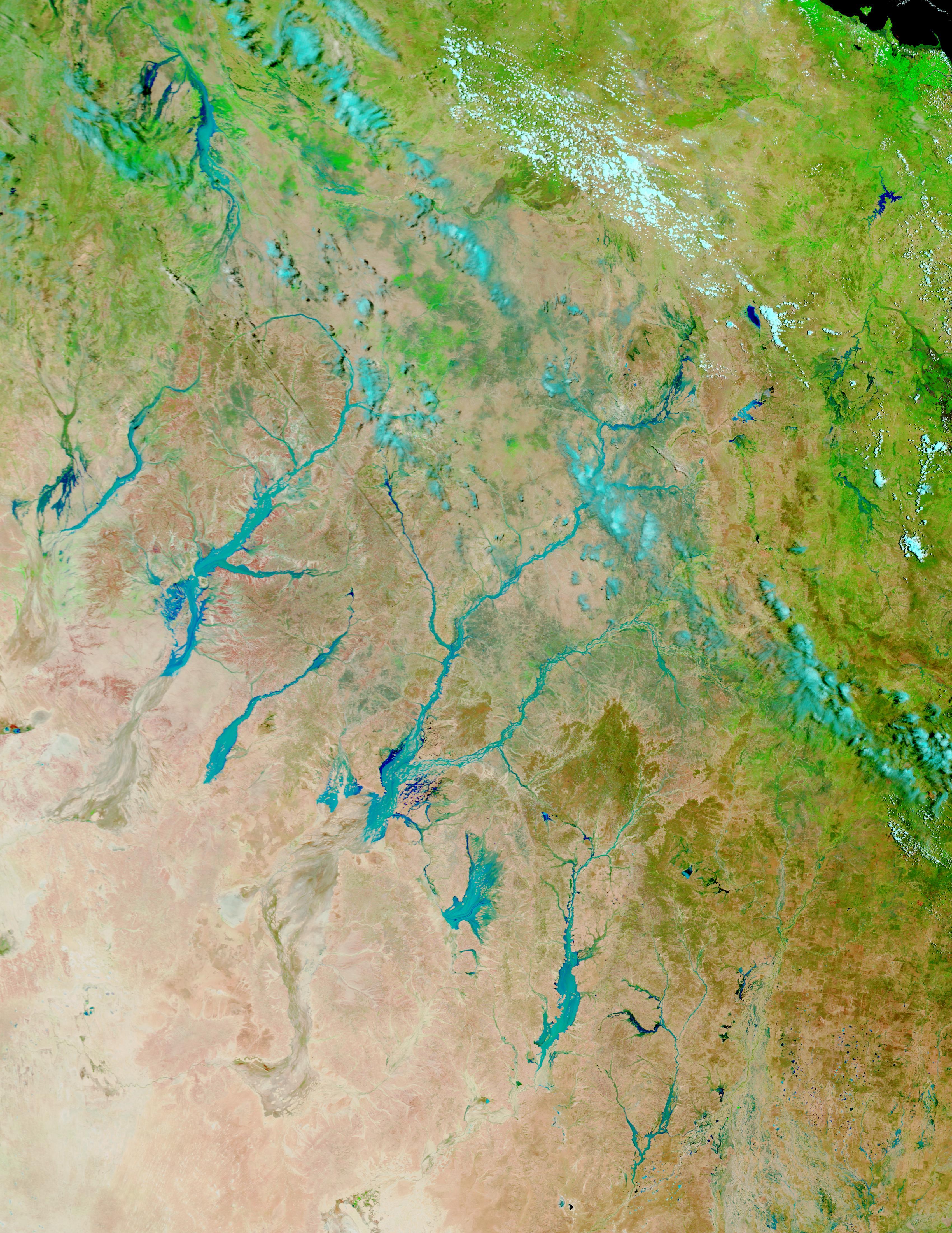 Inundaciones en Queensland, Australia