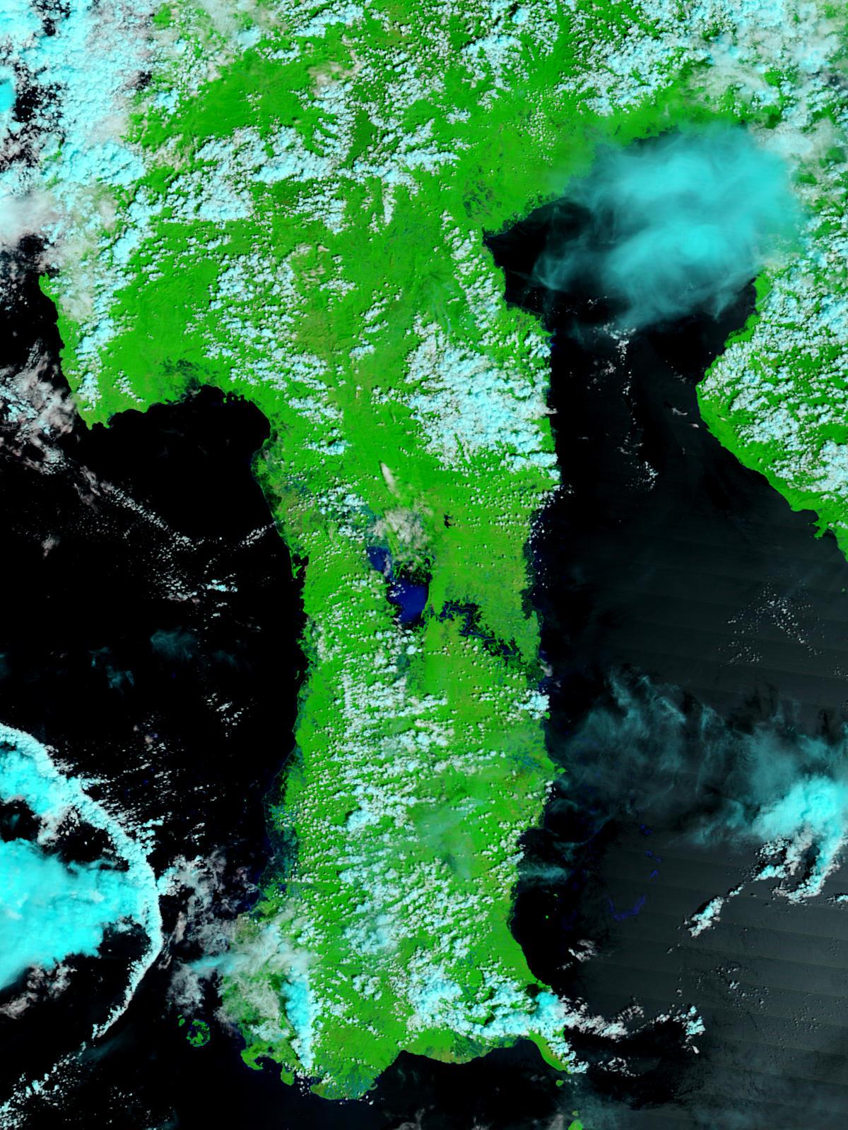 Inundaciones en la isla Sulawesi, Indonesia