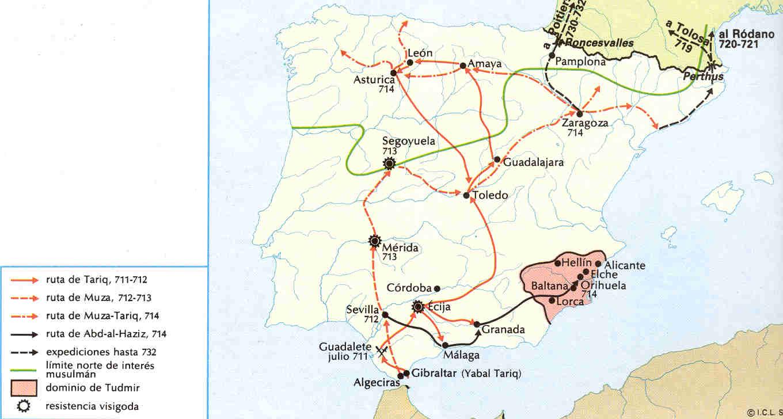 Umayyad conquest of Hispania
