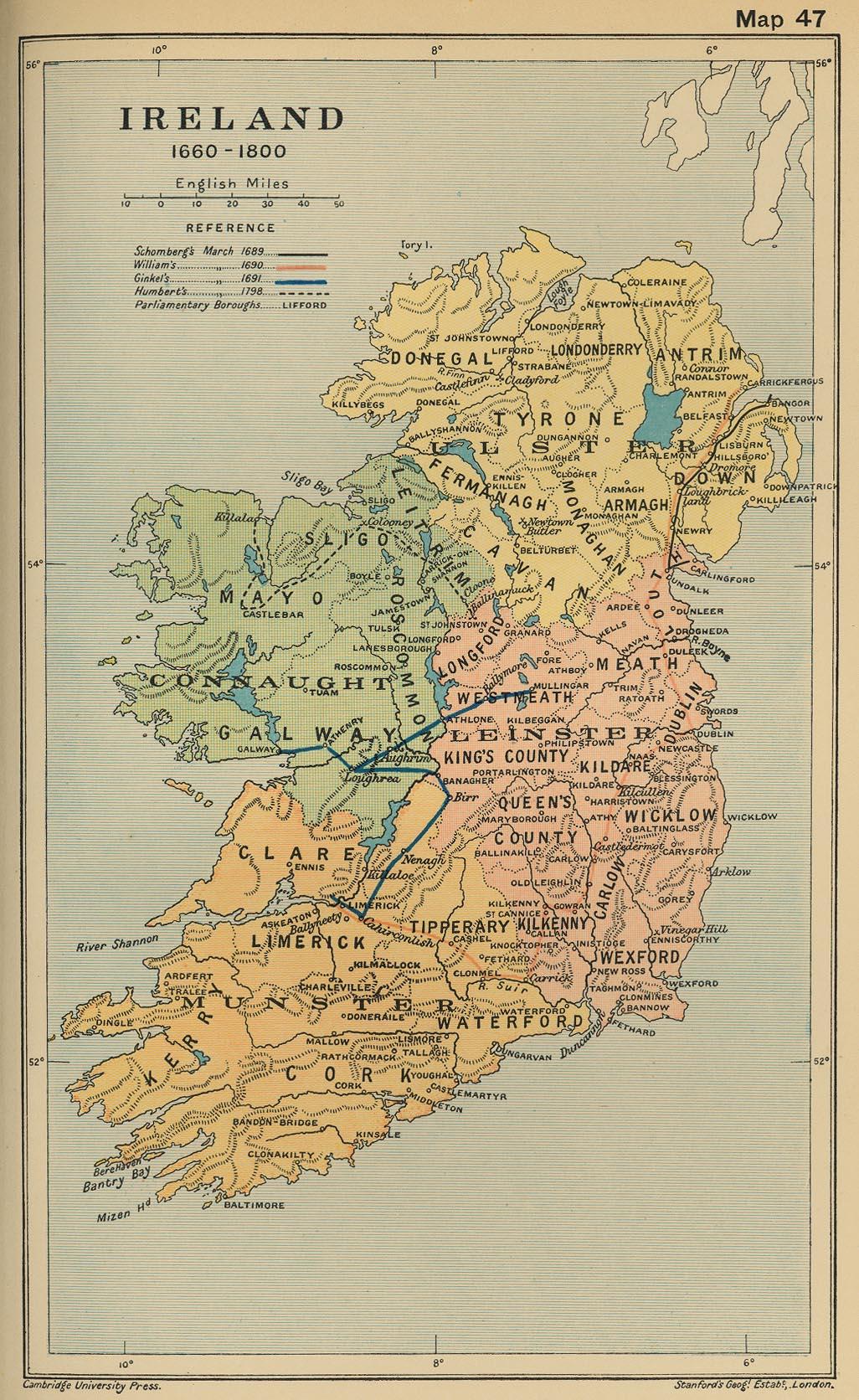Irlanda 1660 - 1800