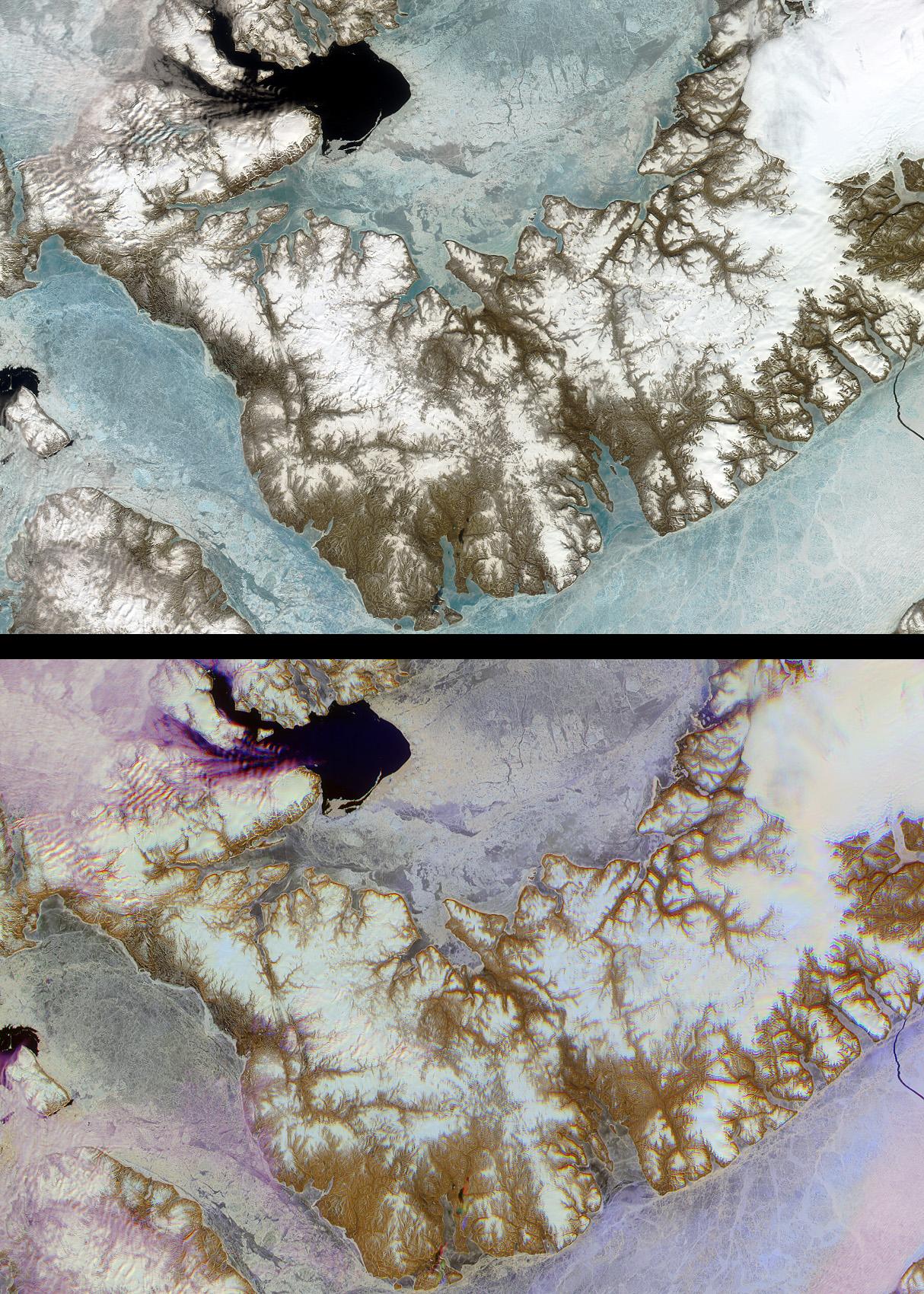 Isla Devon, Territorio del Nunavut, Canadá