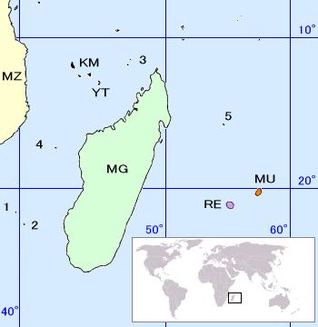 Islas Dispersas del Océano Índico