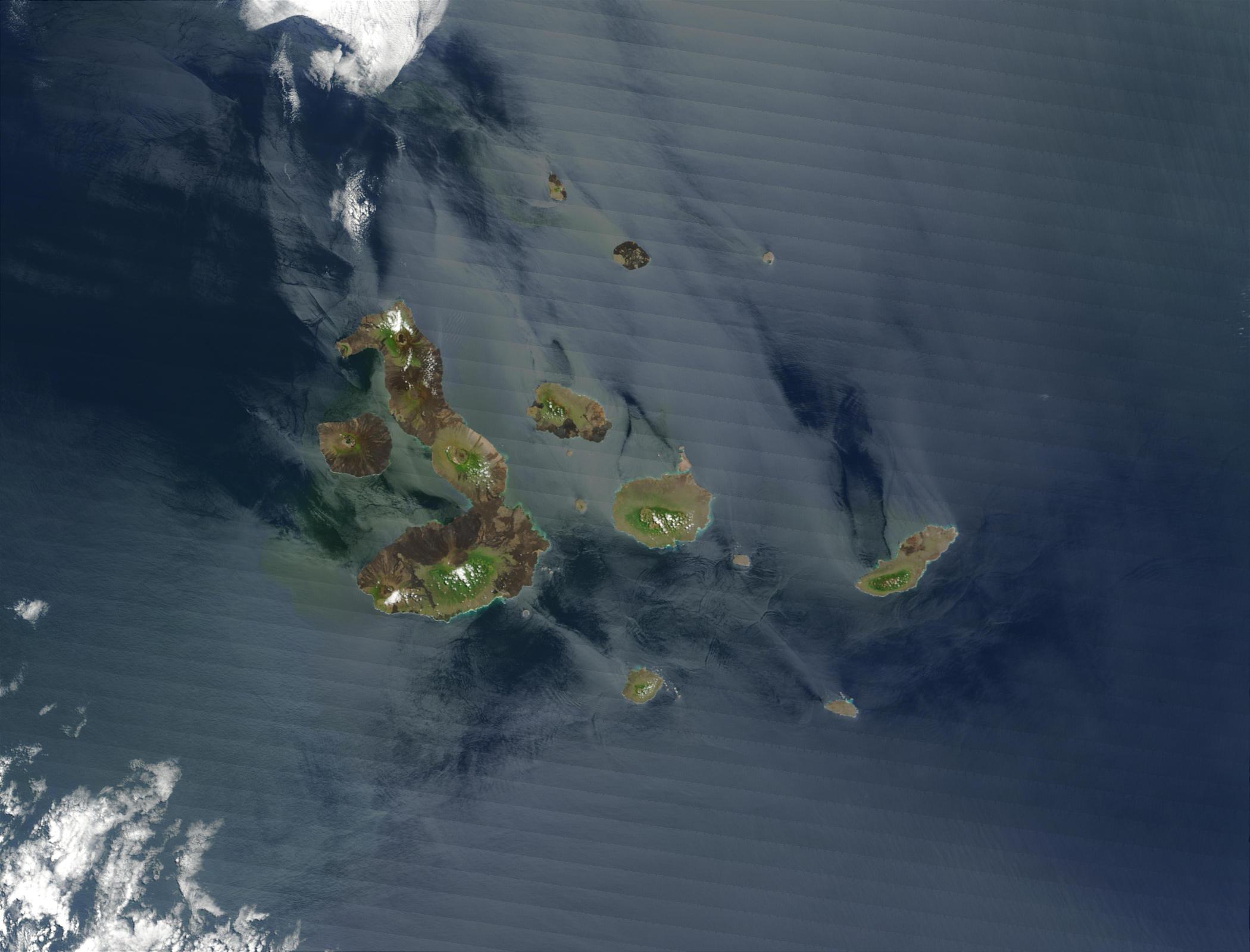 Islas Galápagos, Océano Pacífico