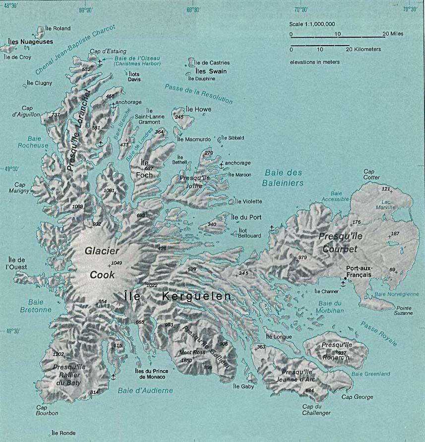 Islas Kerguelen