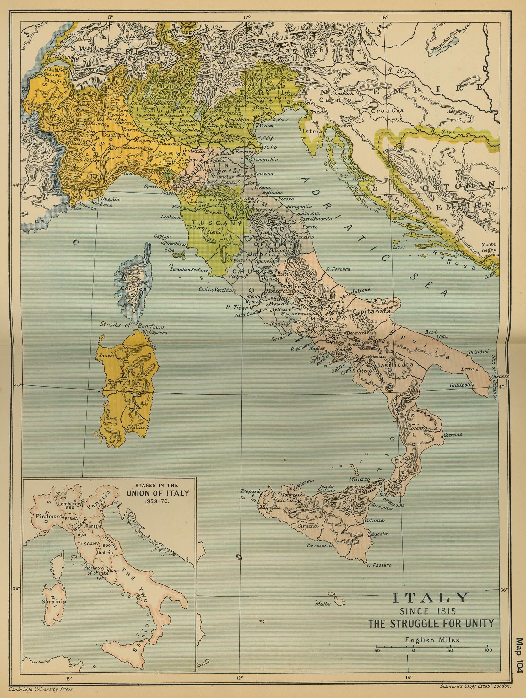 Italia en 1815