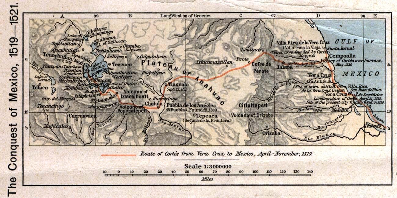 La Conquista de México, 1519 - 1521