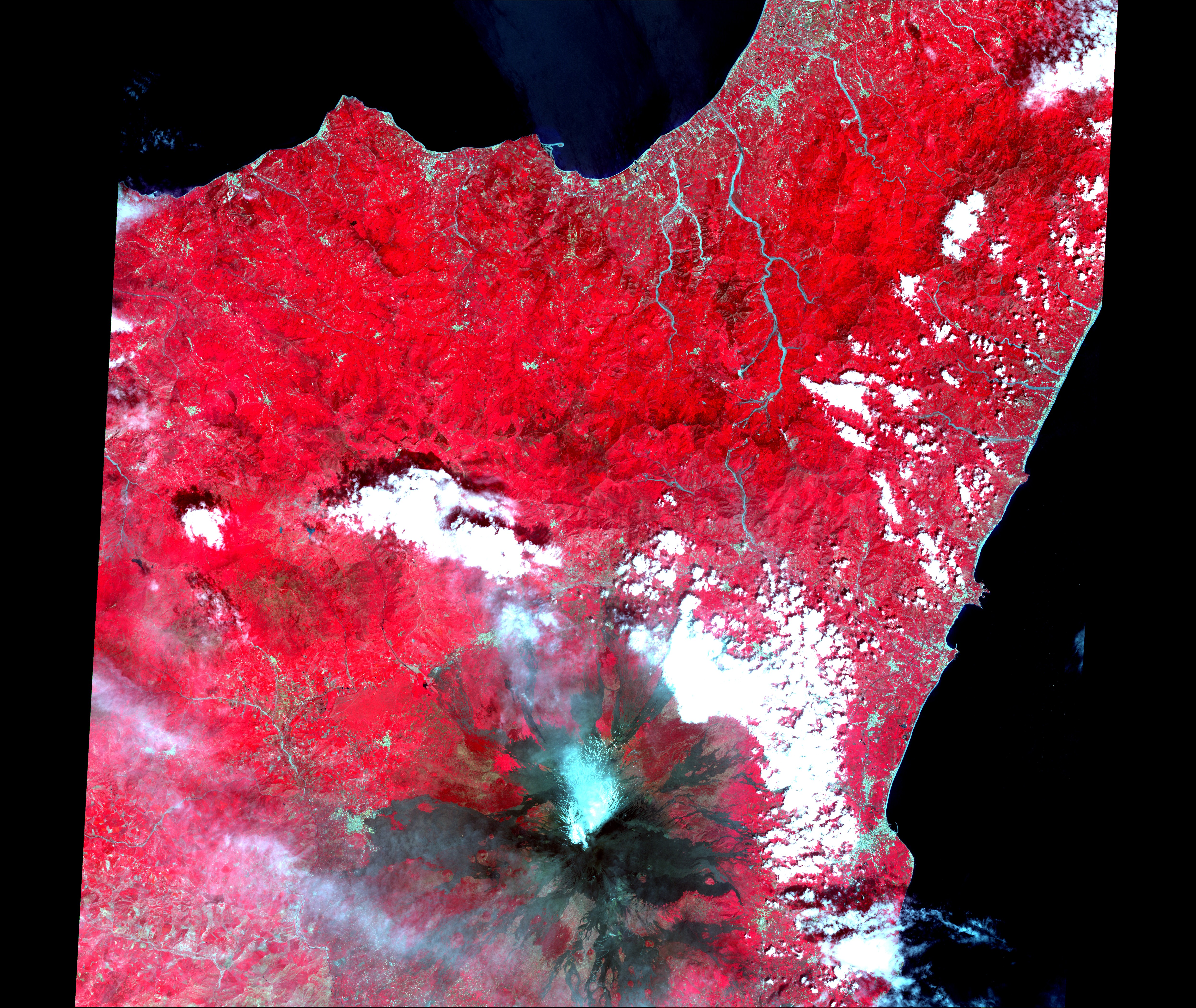 The Continuing Eruption of Mount Etna