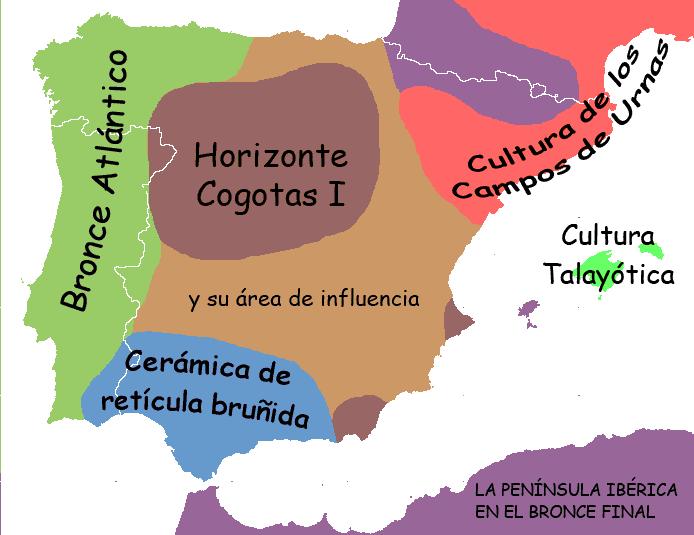 La península Ibérica durante la Edad del Bronce