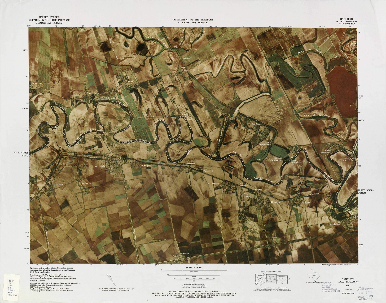 Mapa Fronterizo de México-Estados Unidos, Ranchito 1983