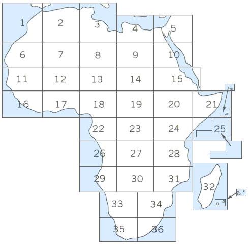 Mapa Index de África