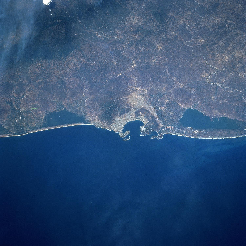 Mapa Satelital de Acapulco, Mexico