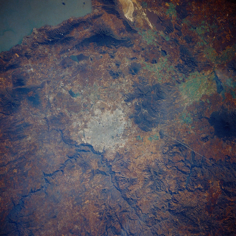 Satellite Image, Photo of Guadalajara, Jalisco, Mexico