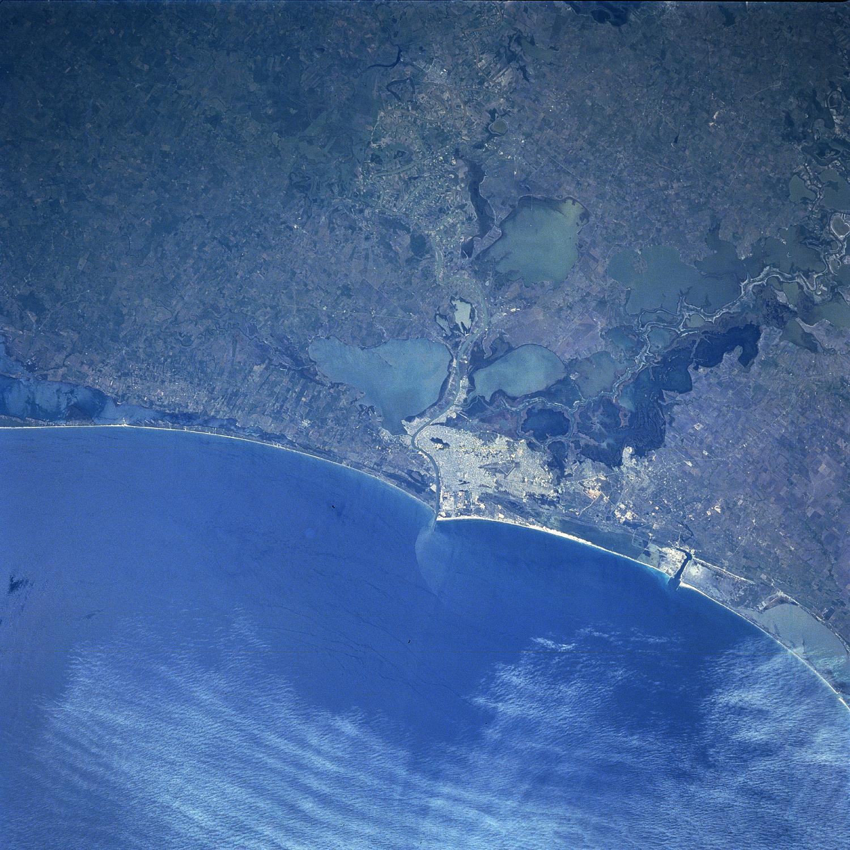 Mapa Satelital de Tampico, Mexico
