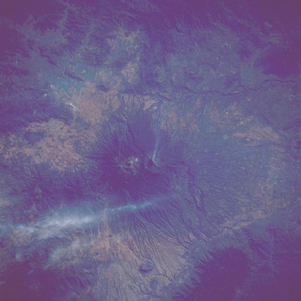 Mapa Satelital de Volcan Colima, Mexico