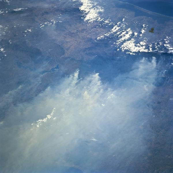 Satellite Image, Photo of Isthmus of Tehuantepec, Mexico