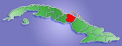 Mapa de Localización Provincia de Ciego de Ávila, Cuba