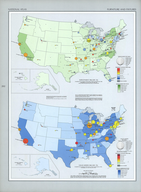 Mapa de la Industria del Mueble en Estados Unidos