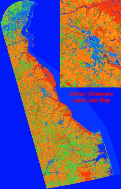 Delaware Land Use Map