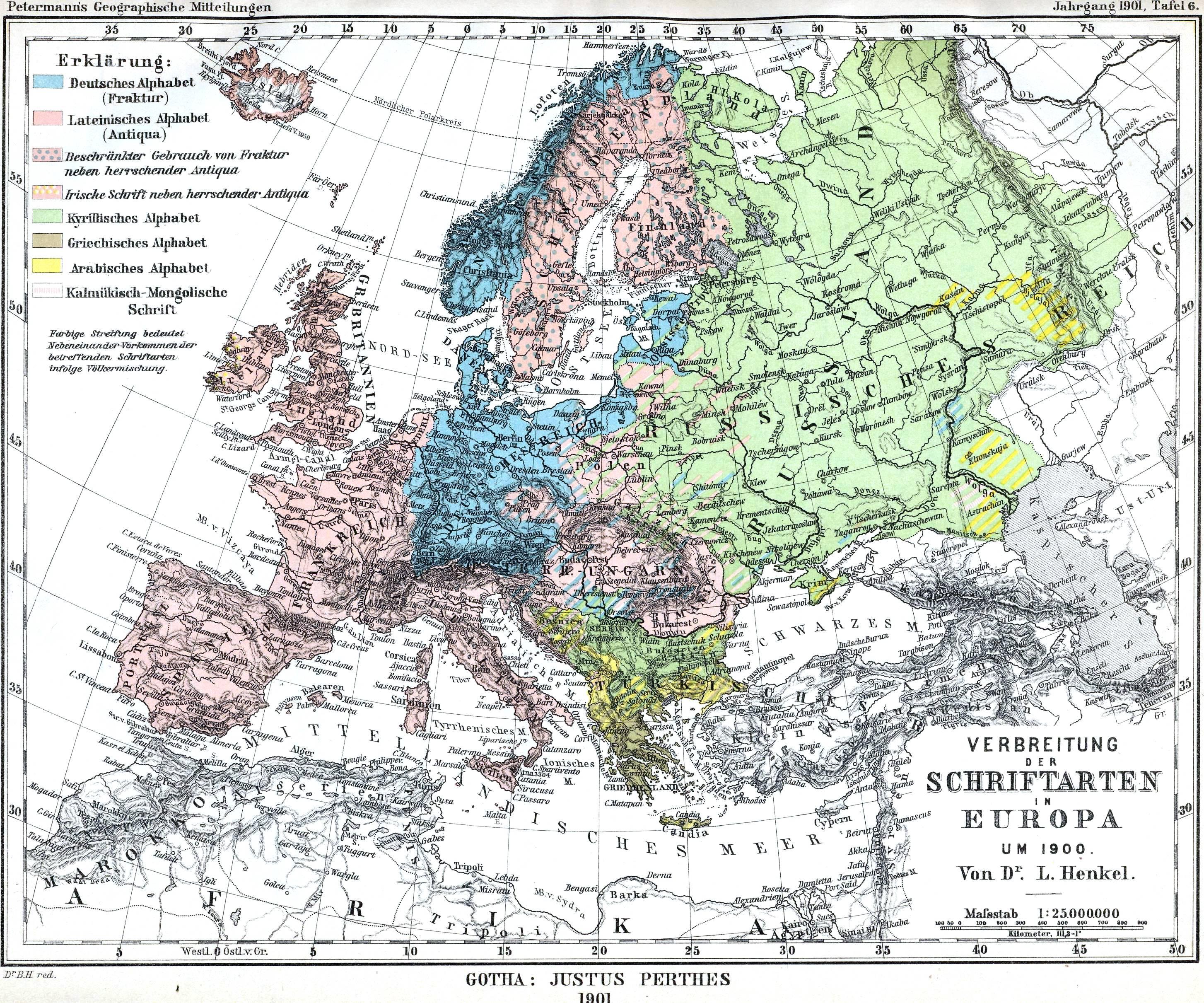 Mapa histórico de Europa