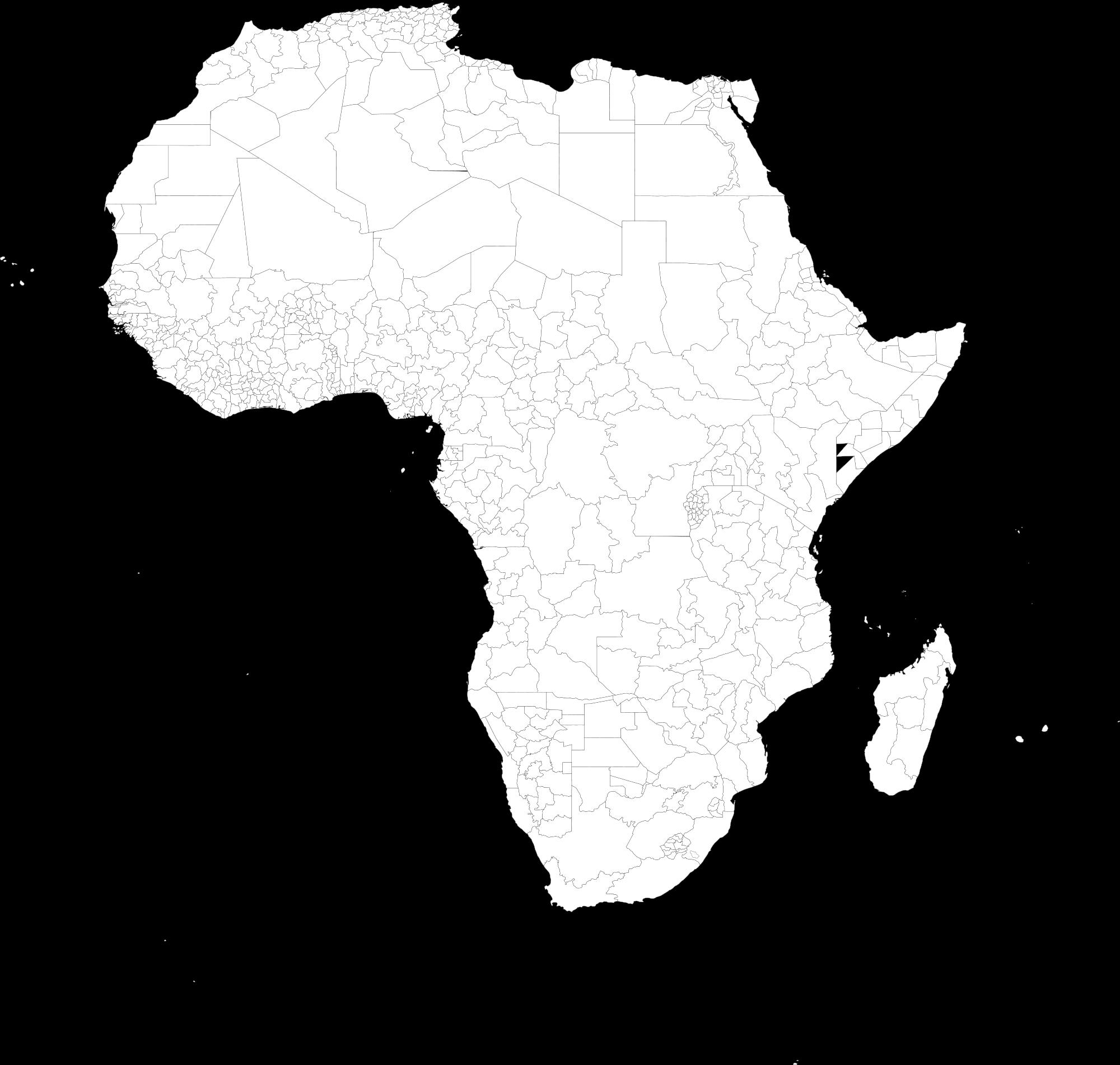Mapa político con divisiones de 1º nivel 1998