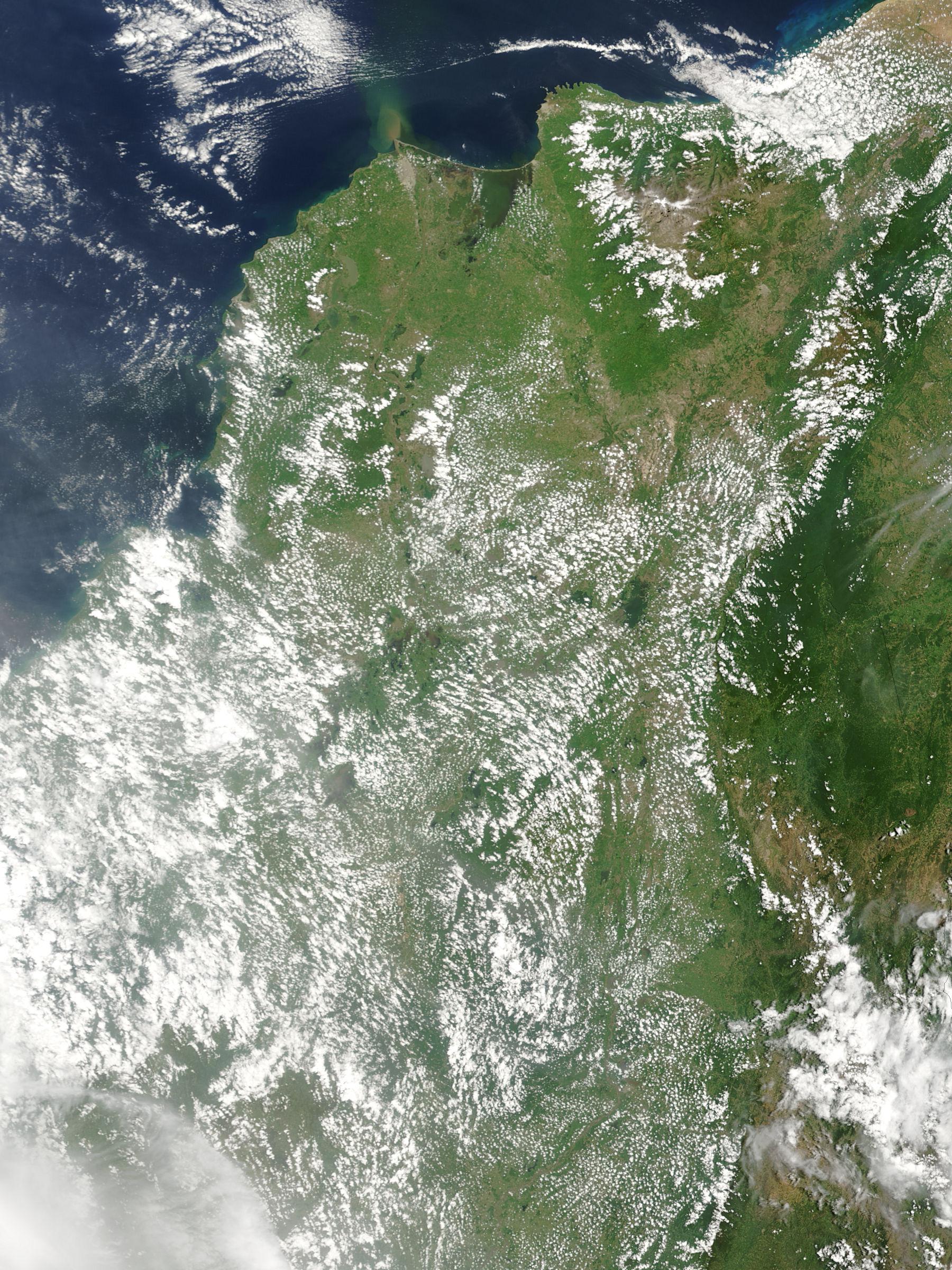 Norte de Colombia (antes de las inundaciones)
