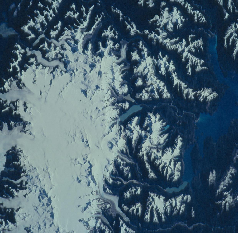 Norte del campo de Hielo Patagónico, Chile