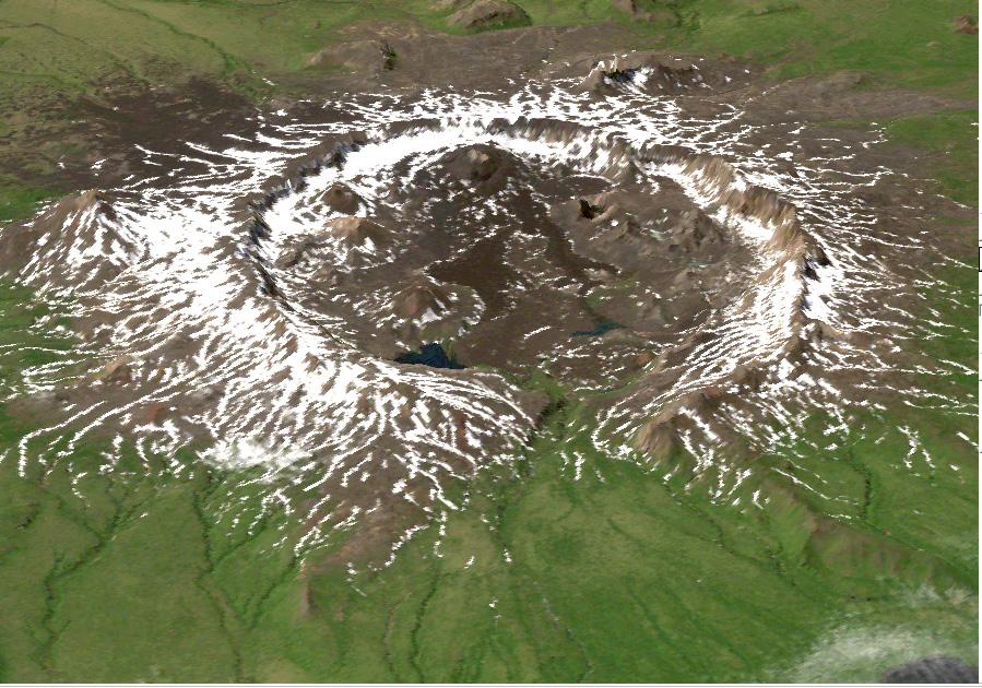 Nueva mirada a la topografía unica de Alaska