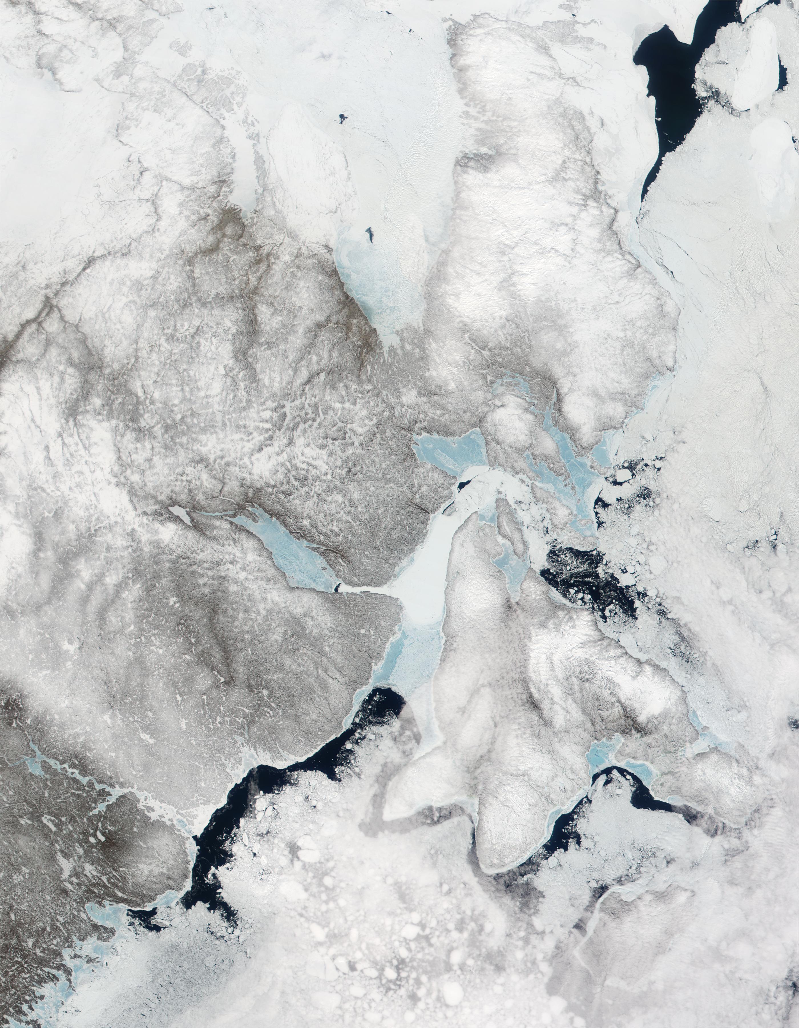 Península de Melville y isla de Southampton, norte de Canadá