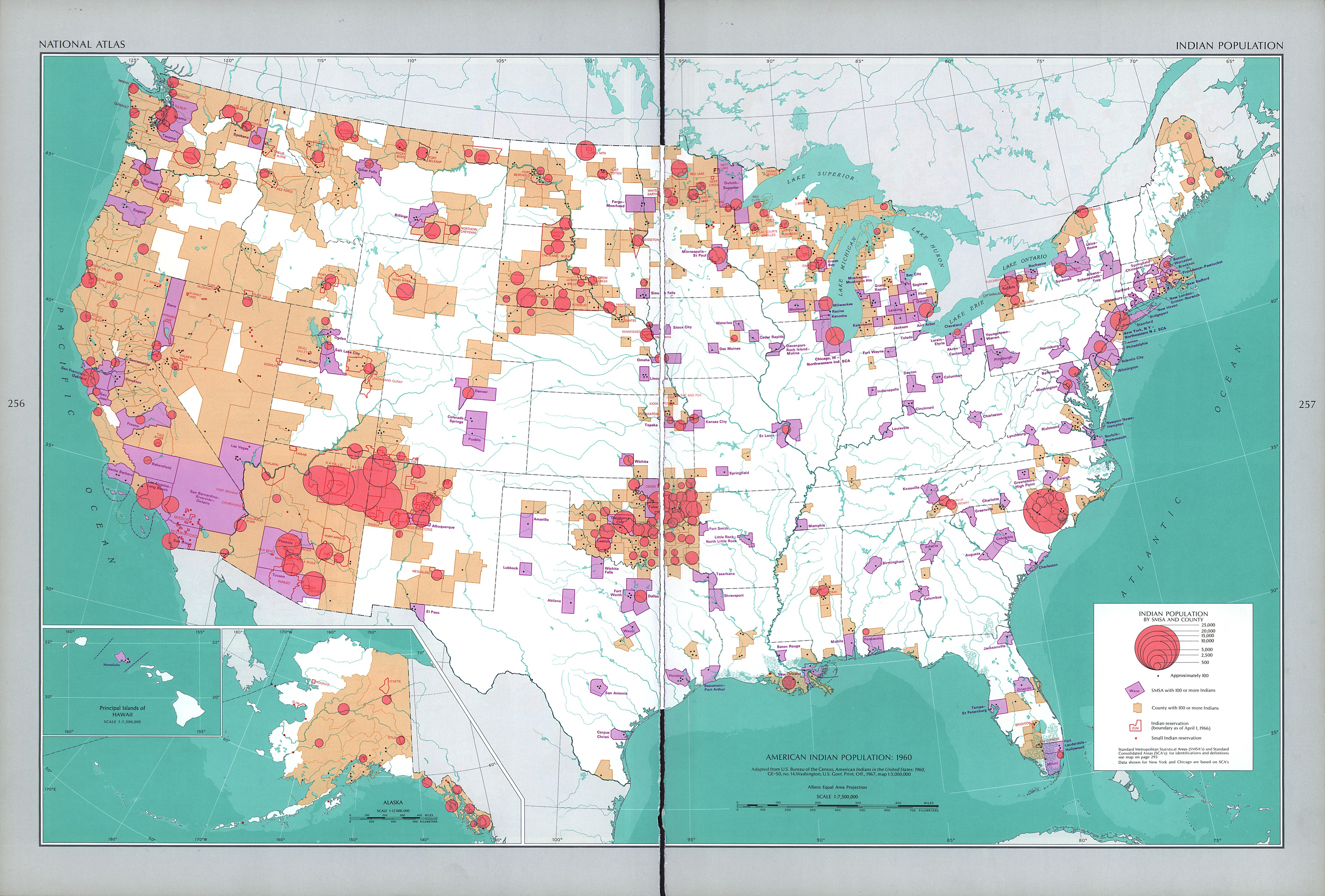 United States Indian Population 1970