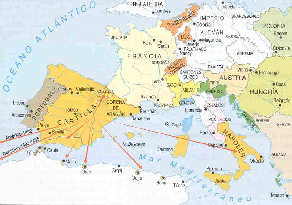 Política exterior de España con los Reyes Católicos